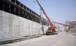 Union cement factory- Expantion For Clinker Material Shed